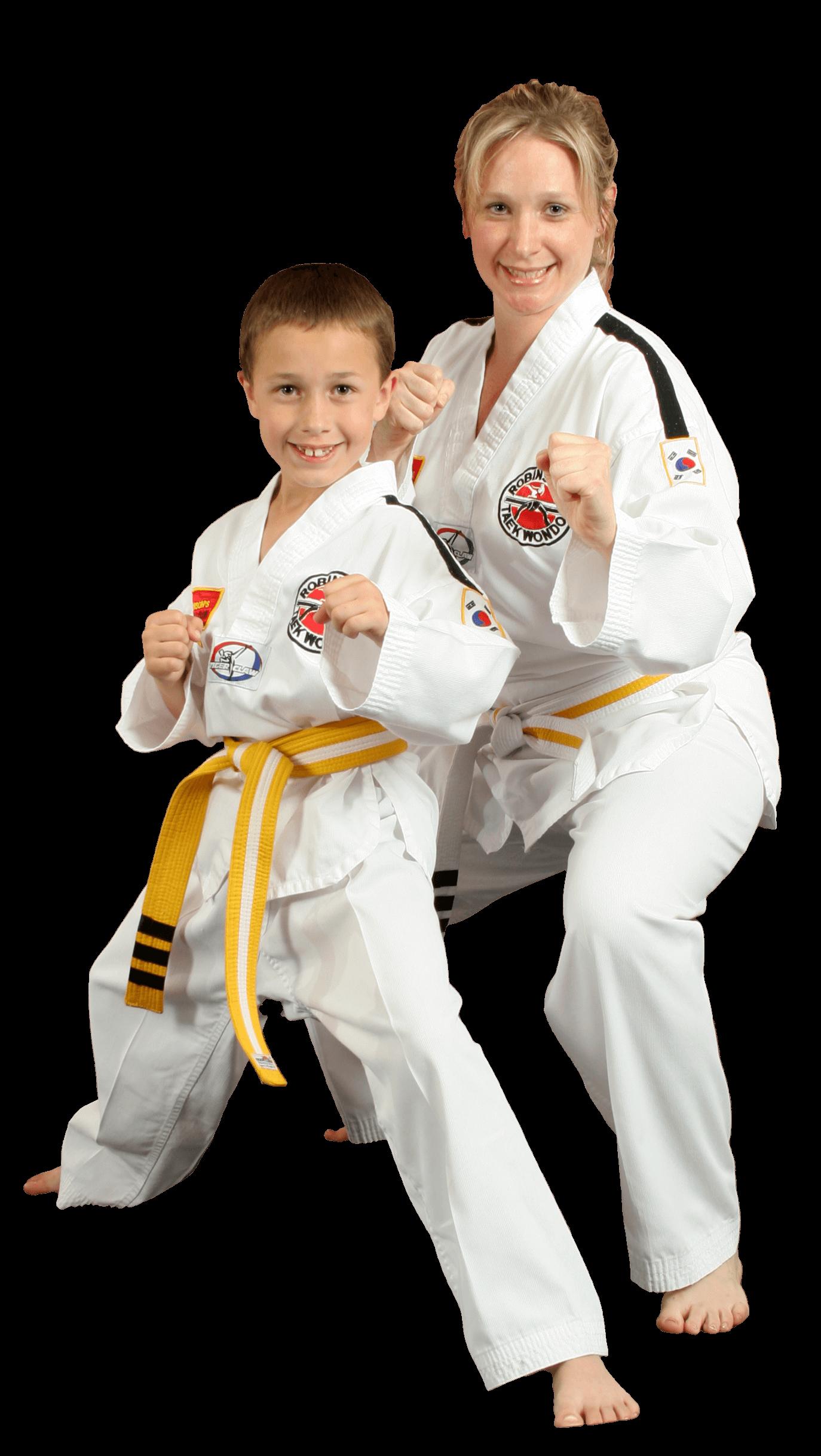 Robinson's Taekwondo family programs